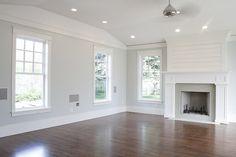 Pretty fireplace/mantel