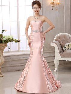 Ericdress Amazing Strapless Hollow Out Floor-Length Mermaid Evening Dress Evening Dresses 2015- ericdress.com 11345254