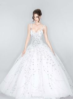 25 best Wedding Dresses with Swarovski Crystals images on Pinterest ...
