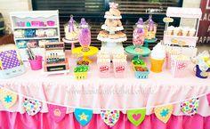 shopkins candy table - Buscar con Google