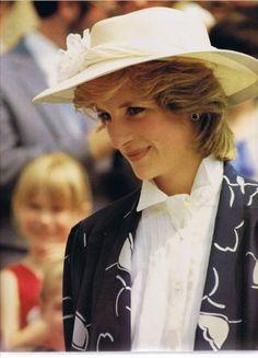 Princess Diana in Canada, June 18, 1983