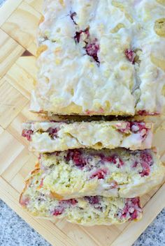 Lemony Raspberry Zucchini Bread with a Lemony Glaze Recipe on Yummly. @yummly #recipe