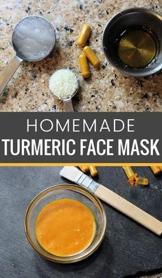 Do you need a homemade face mask recipe that will not only deep clean your pores… Easy Homemade Face Masks, Homemade Skin Care, Homemade Beauty Products, Psoriasis On Face, Turmeric Face Mask, Coconut Oil For Acne, Lotion Bars, Clean Face, Clean Pores