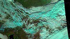 Akrtický vzduch prechádza našim územím zo severu na juh