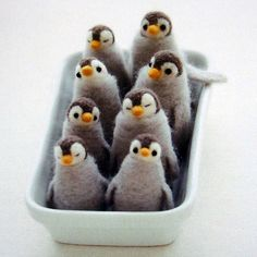 #felt #penguins