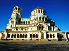Sofia Bulgaria. St Alexander Nevsky cathedral.