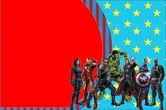 30 Modelos de Convite dos Vingadores! Confira! continue vendo...