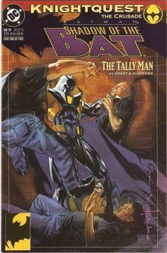 Batman: Shadow of the Bat #19 (The Tally Man Part 1) October 1993 @ niftywarehouse.com #NiftyWarehouse #Batman #DC #Comics #ComicBooks
