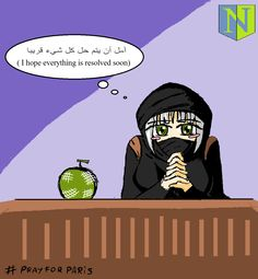 Even Isis-chan is worry... by nicolasalcaino2.deviantart.com on @DeviantArt