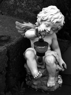 A Boyish Angel Searches the Ground With a Lantern in Front of a House on Abbot Street in Worcester, MA Angel Sculpture, Roman Sculpture, Sculpture Art, Surealism Art, Art History Major, Cherub Tattoo, Drawing People Faces, Anatomy Sculpture, Arte Hip Hop