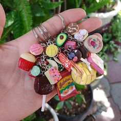 Create Your Own, Personalized Mexican Food Keychain Texas Cool Keychains, Cute Keychain, Keychain Ideas, Mini Things, Cool Things To Buy, Accesorios Casual, Mexican Crafts, Clay Crafts, Tape Crafts