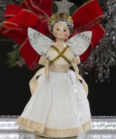 Take a look at this Holy Night Angel Figurine by ESC and Company, Inc. on #zulily today!