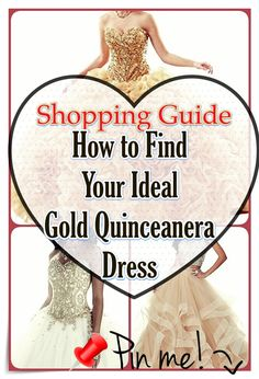How you can pick out Gold Quinceanera dress for a Quinceanera party -- the original Latin American ritual which represents the passage of a woman from childhood to adulthood. Quinceanera Party, Quinceanera Dresses, Gold Dress, Pink Dress, Quince Dresses, Different Dresses, Queen, Timeless Beauty, Every Girl