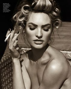 Candice Swanepoel is Sexy in Denim for Vogue Spain April 2013 by Mariano Vivanco