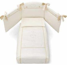 Erbesi Cuori  слоновая кость  — 12245р. ------------------------ Erbesi Cuori 3 предмета – необычайно изысканное и оригинальное постельное белье, которое подарит самые сладкие и приятные сны Вашему малышу! Бел...