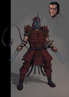 Shredder TMNT by ~Teratophile on deviantART