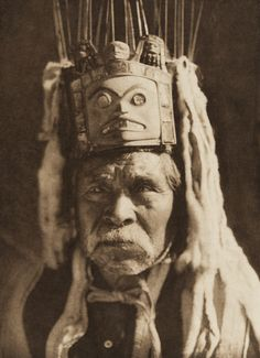 Stlina, of Massett - Haida 1915