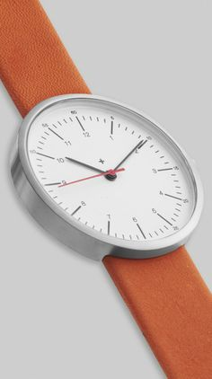 Ernest Watch Orange #productdesign
