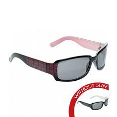 Color-Changing Solize Sunglasses for $49.00 - Mona - Black to Fuchsia - Women's Polarized Sunglasses - Image With Sun