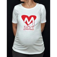 Camiseta original para embarazada