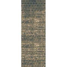"Bungalow Rose Argentine Olive Area Rug Rug Size: Runner 2'7"" x 7'3"""