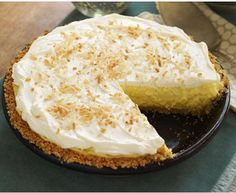 Love this coconut cream pie that is a popular dessert to make, this is an easy dessert to make so great for that dinner party or special occasion or if you are like me with this dessert anytime ...