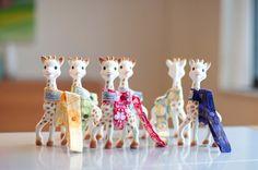 Sophie the giraffe holders