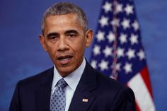 Obama holds a news conference at the Pentagon in Arlington, Virginia, U.S.