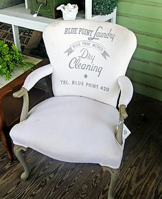 Custom upholstered chair - CNS