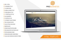 Multipurpose HTML5 Template by pixelcoder on @creativework247