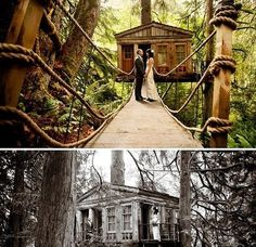 Treehouse Point // 22 Of The Coolest Places To Get Married In America\n