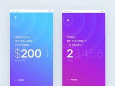 Spend / Time selector from: What if Tinder did travel?