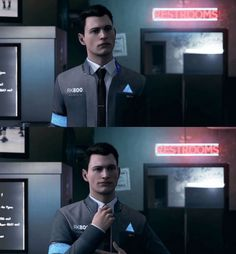 detroit: become human #dbh #detroitbecomehuman #connor #rk800 #android