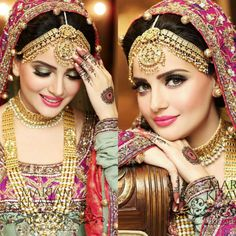 Love the bridal jewellery!!!