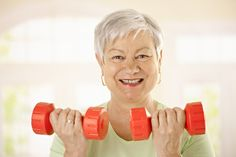 Lifting weights is good for seniors