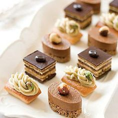 Stop by Mackenzie Limited now and peruse our exceptional inventory of gourmet desserts online, including Mini Patisserie! Fancy Desserts, Gourmet Desserts, Plated Desserts, Delicious Desserts, Dessert Recipes, Apple Desserts, Healthy Desserts, Mini Patisserie, Logo Patisserie