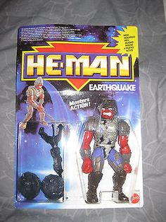 He-Man Masters of the Universe NEW ADVENTURES EARTHQUAKE Mattel 1990 SEALED MOTU