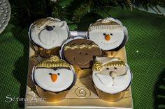 cupcakes natalinos - Pesquisa Google