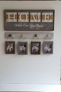 20 idées pour décorer de manière originale avec ses PHOTOS DE FAMILLE! Inspirez-vous