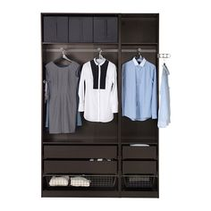 PAX Wardrobe - - - IKEA Something like this would be cool