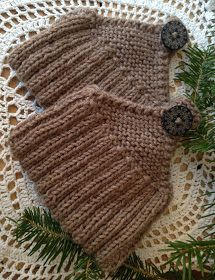Rita's Kosekrok: Lommetøfler under treet. Knit Fashion, Tatting, Knit Crochet, Diy And Crafts, Projects To Try, Winter Hats, Embroidery, Knits, Knitting Patterns