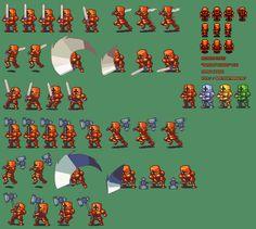 Sprite Database : Armored Knight