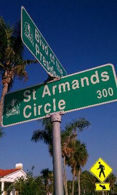 St Armands Circle - one of my favorite places