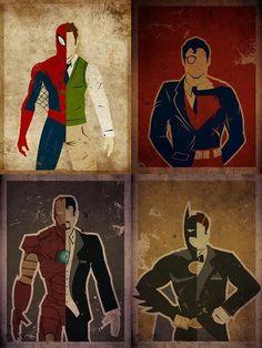 超級英雄也要上班