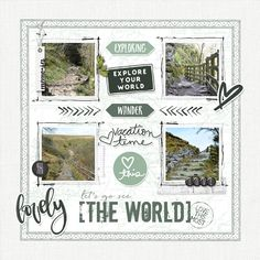 Explore the World - Scrapbook.com