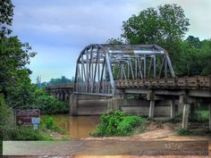 Campbell White bridge in Quitman county, MS over the Coldwater River, 2006