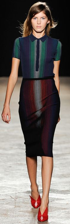 Love the colors, style & lines. Ars Marco de Vincenzo | Spring '14