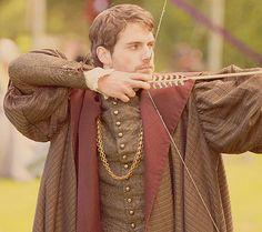 gotta love me some archery <3 #charlesbrandon #henrycavill #thetudors