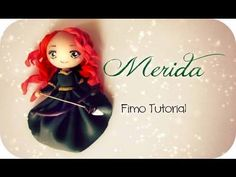 Tuto : Comment faire les princesses des dessins animés en Fimo Polymer Clay People, Polymer Clay Dolls, Polymer Clay Projects, Polymer Clay Charms, Clay Crafts, Kawaii, Cold Porcelain Tutorial, Clay Figurine, Clay Miniatures