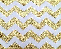 Chevron Gold Wallpaper Idea